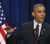 U.S. President Barack Obama speaks on the 7th Anniversary of signing the Lilly Ledbetter Fair Pay Act.