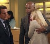 Sheldon counsels Sam's friend, Rick, an Army veteran suffering from PTSD.