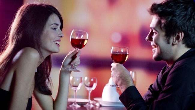 red wine, sip, couple