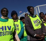 AIDS Treatment Advocates March On US Consulate For Increased Funding