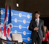 Canadian PM Trudeau Speaks At U.S. Chamber Of Commerce