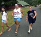 Overweight Campers Learn to Shed Pounds