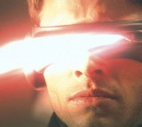 Cyclops (James Marsden Lets Out An Optic Blast From His Visors In The Film X-Men