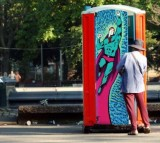 Artistic Bathrooms Placed In New York Parks