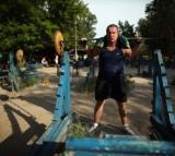 Kiev's Soviet Style Kachalka Gym