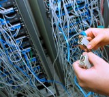 An Engineer Checks the Server After Multiple Worm Attacks