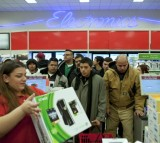 Black Friday Shoppers Chase Deals At Wal-Mart, Best Buy