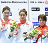 The 10th Asian Swimming Championships 2016 - Day 4