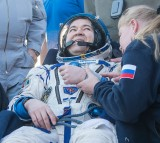 U.S., Russian Crew Land in Kazakhstan After 172-Day Mission