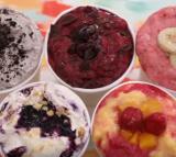 Homemade FROZEN YOGURT in 5 Minutes (No Ice Cream Machine)