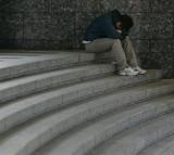 sad, depression, boy, teen, college