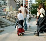 Trolleys Versus Backpacks: Science Finds The Best Bag For Children
