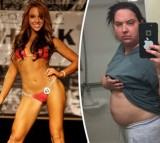 Bikini Fitness Modeal Reveals How Her Weight Gain Was Caused By Brain Tumor