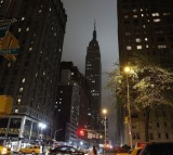 The Empire State Building during Earth Hour.