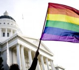 Rally On Steps Of California State Capitol Protests Passage Of Prop
