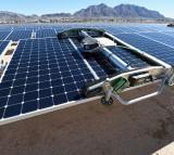 Solar panels at the Nellis Air Force Base