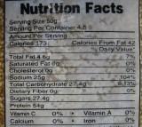 Labeling Menu Calories