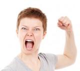 Anger, woman