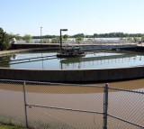 A sewer water treatment facility