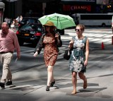 Extreme Heat Wave Continues In New York City With Heat Index Reaching Past 100 Degrees