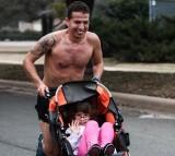 Iram Leon and his daughter Kiana