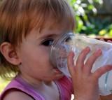 milk, child, toddler