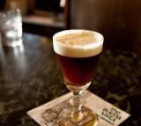 coffee, irish coffee, alcohol, bar
