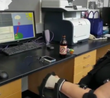 Study Participant Plays Video Game (VIDEO)