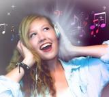 music, headphones, song