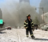 world trade center, firefighter