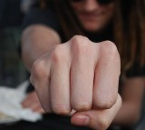 fist, hand, clench