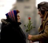 love, couple, old, elderly