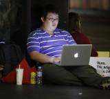 laptop, night, night owl