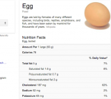 Google, Nutrition