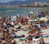 Spain, tourist, beach