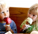 ice cream, kids, children