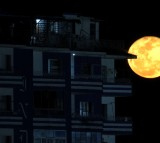 Moon, full moon, night