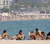 barcelona, beach, spain