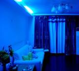 Night light, Blue
