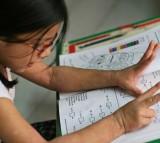 girl in math