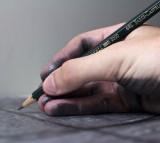 hand, writing, drawing