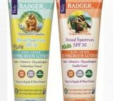 Badger, Sunscreen