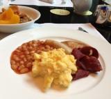 breakfast, morning