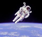 Weightless Float Astronaut Bruce Mccandless Space