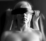 Woman Blind Light Erotica Sadomasochism Blonde