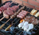 Grill, Meat, food