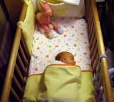 crib, infant, baby