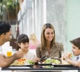 Family, eating