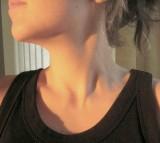 Throat, neck