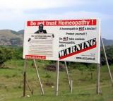 Homeopathy, Warning